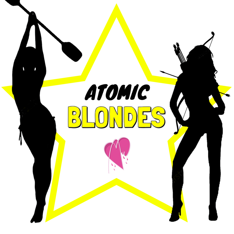 LOGO ATOMIC BLONDES